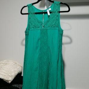 Green tanktop/dress